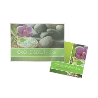 Full Color (4CP) - Microfiber Cloth + Direct Mailer Postcard