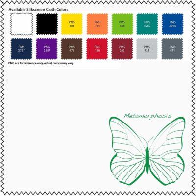 """7""""x 7"""" Silky Smart-Fiber Cloth - 1 Color Silkscreen + PVC Pouch"""