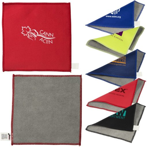 Double Sided Microfiber Cleaning Cloth