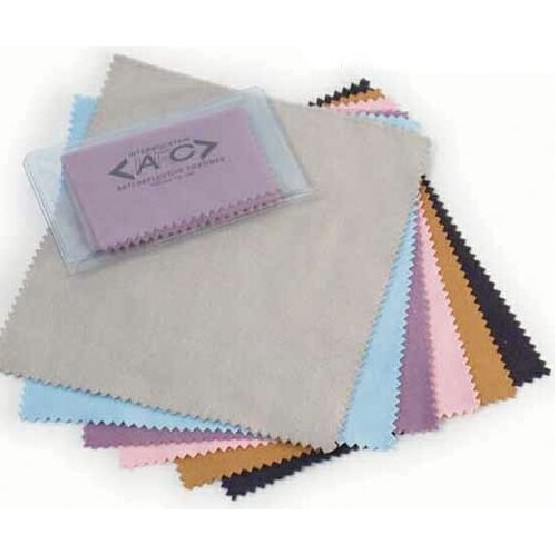 Microfiber Cloth Examples: Eye Glass Cleaning Cloth (Sueded Microfiber)
