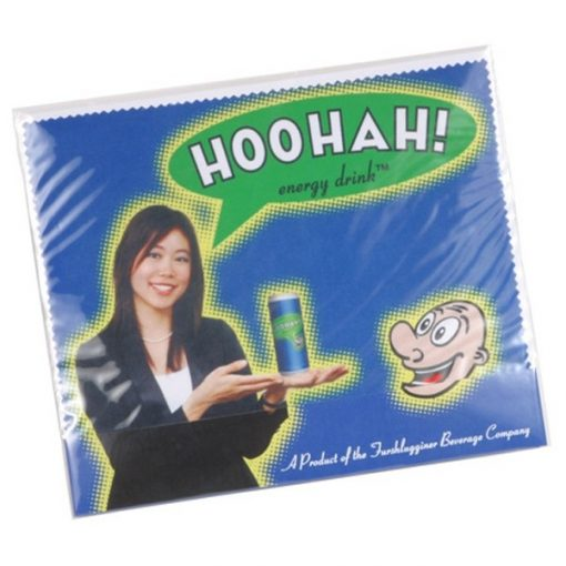 Custom Microfiber Lens Cloth with Card Quick Ship