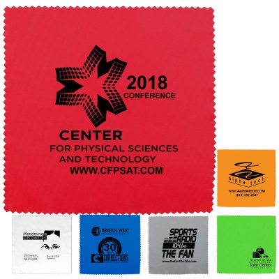 """8"""" X 8"""" - """"OneCleanScreen XL"""" 100% Microfiber Cleaning Cloth & Screen Cleaner"""