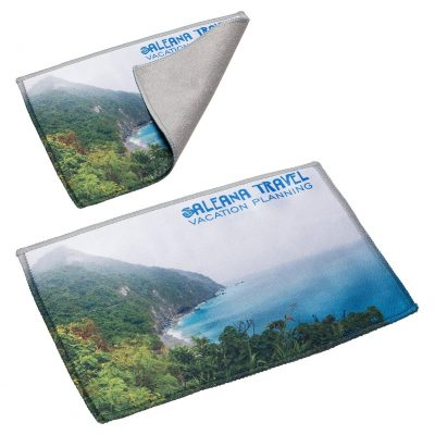 "5"" x 7"" Heavyweight 400GSM 2-Ply Microfiber Cloth"
